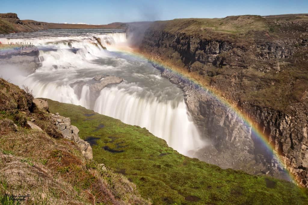 Islanda Circolo d'Oro Gullfoss Waterfall