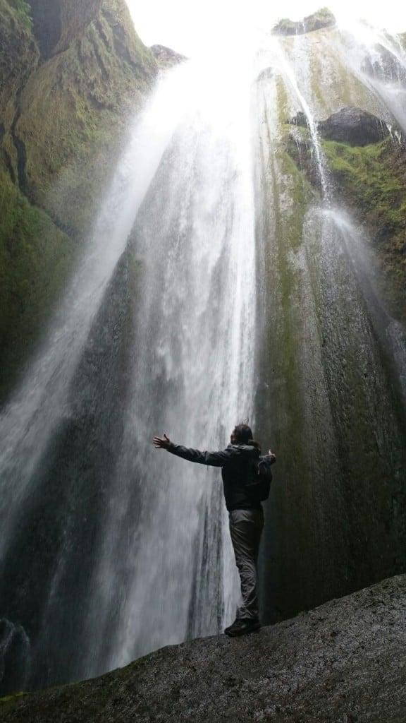 L'Islanda sud – occidentale - cascata di Gljúfurárfoss