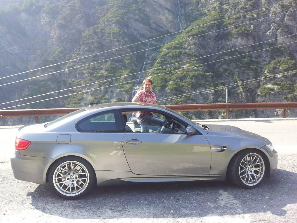 Passo dello Stelvio in BMW M3