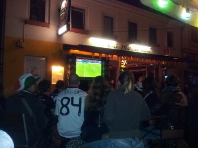 Amburgo - durante una partita dei mondiali