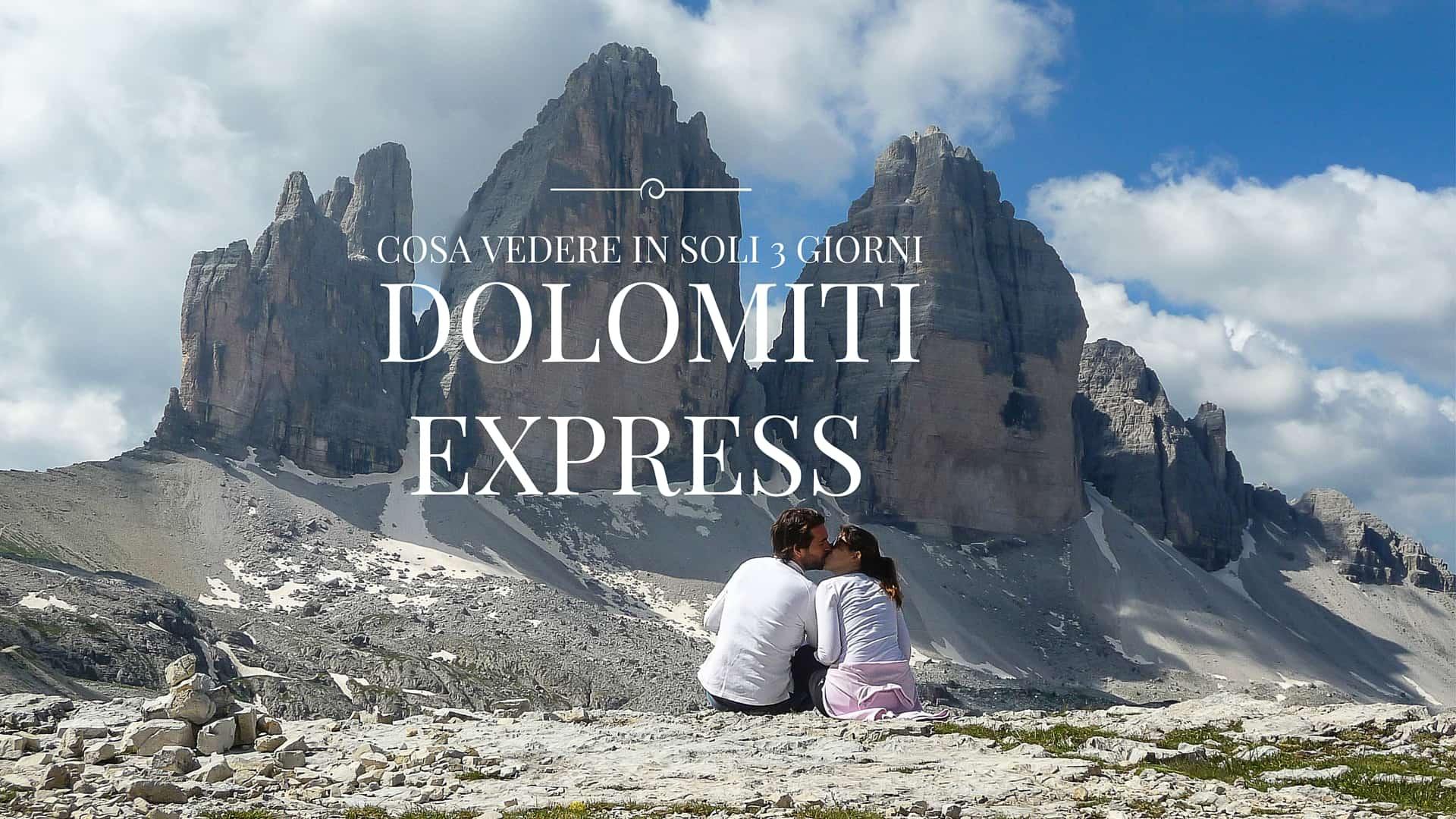 Dolomiti Express: the best of delle Dolomiti in un week end
