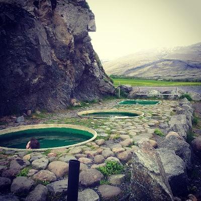 Islanda bagni termali fiumi caldi Hoffell Hot Pot - Höfn