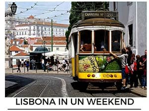 lisbona in un week end