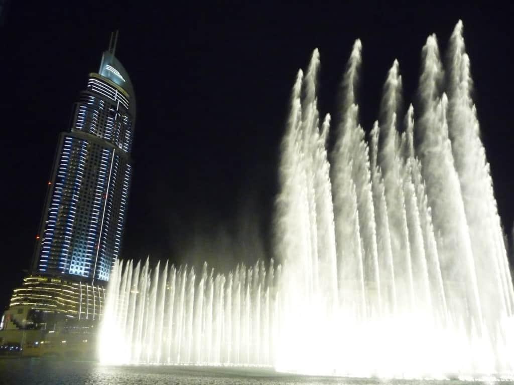 Dubai in 24 ore - Le fontane danzanti e il Burj Al Kalifa