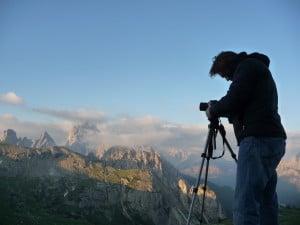 Lui fotografa alle 6 di mattina...