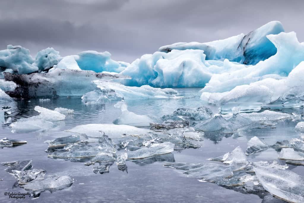 L'Islanda sud-orientale -Jökulsárlón Ice Lagoon