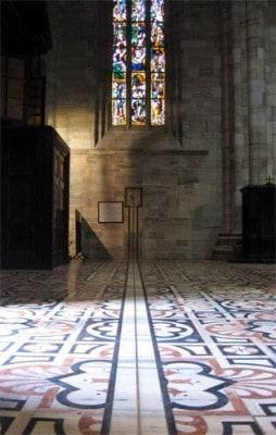 10 luoghi poco conosciuti di Milano - Duomo - la meridiana