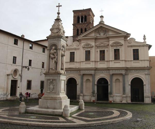 la Colonna Infame dell'Isola Tiberina