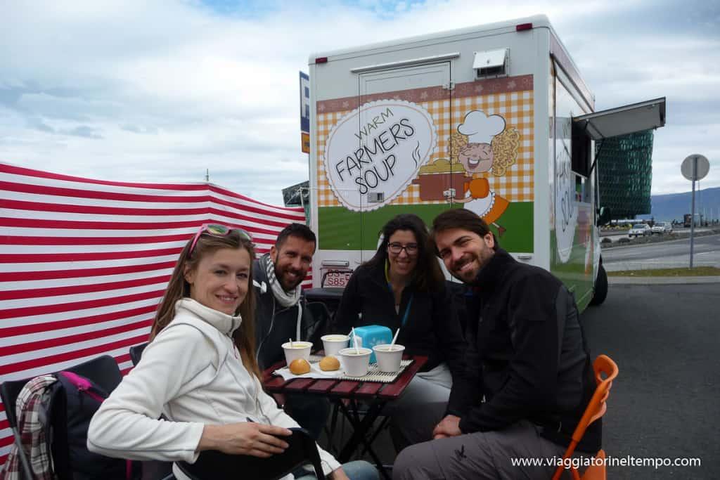 Reykjavik - street food