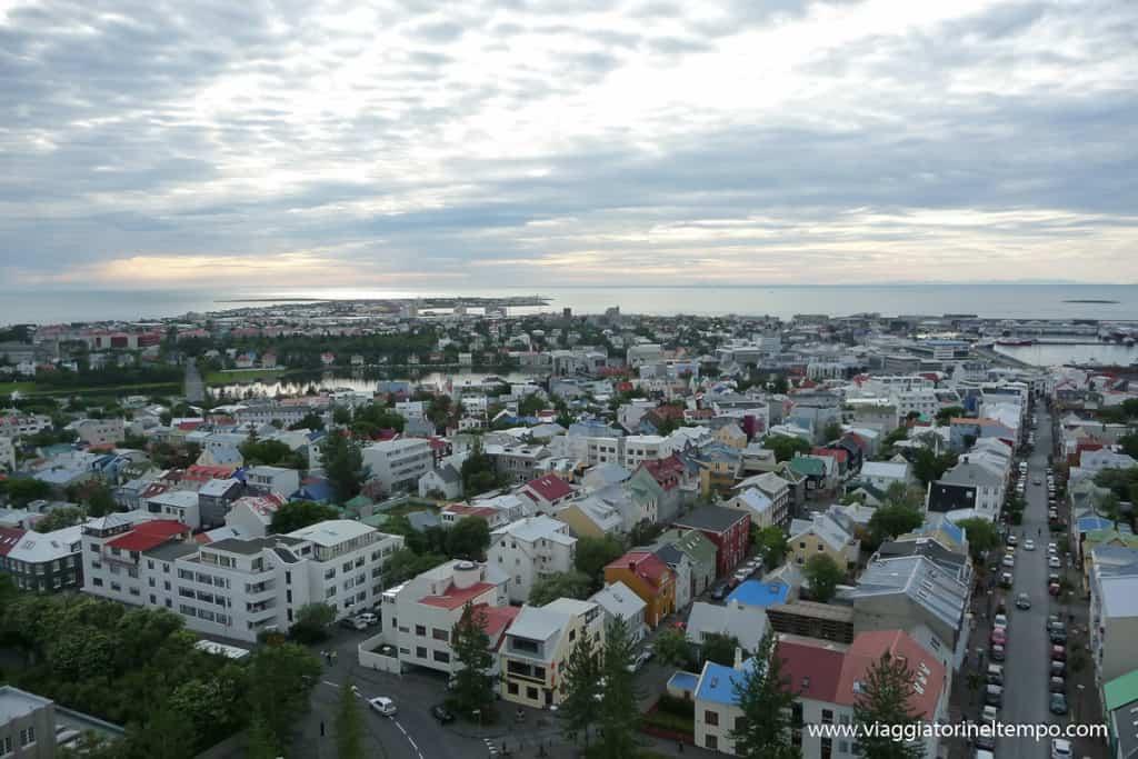 Reykjavik - Vista dalla chiesa di Stykkisholmur