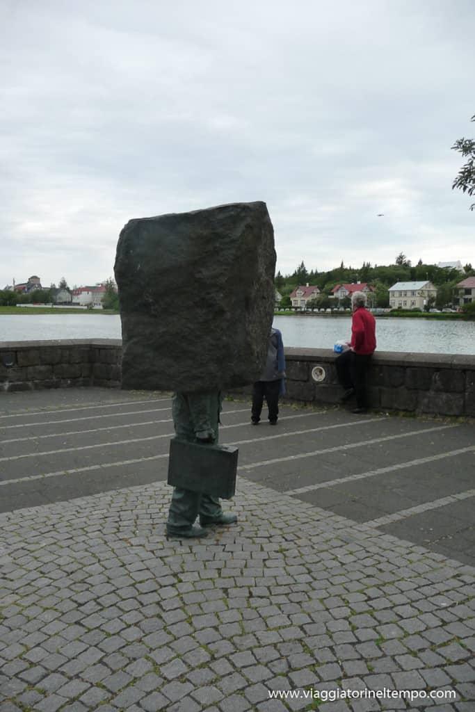 Reykjavik - monumento al lavoratore ignoto