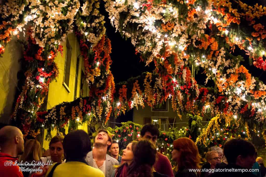 Monte Isola La festa dei fiori di Santa Croce