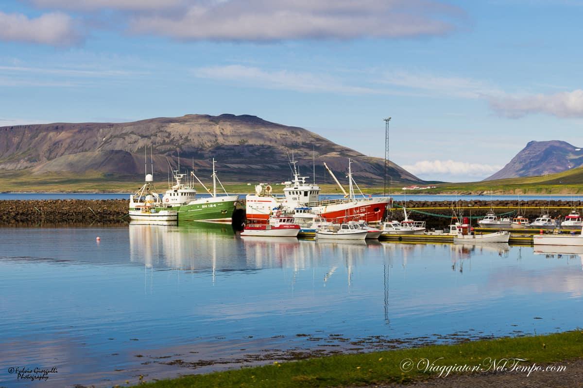 Snaefellsnes peninsula - Stykkisholmur Harbour