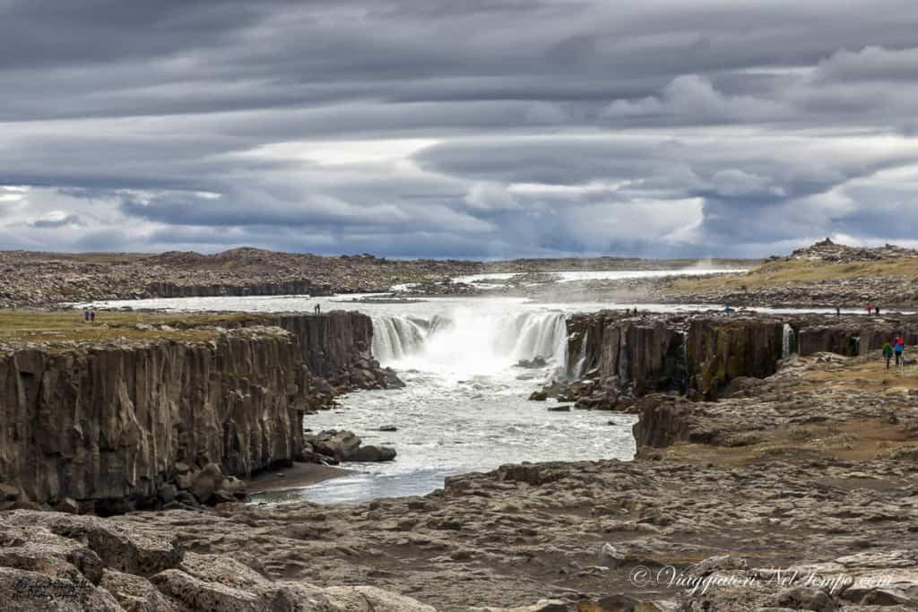 Islanda Dettifoss sellfoss