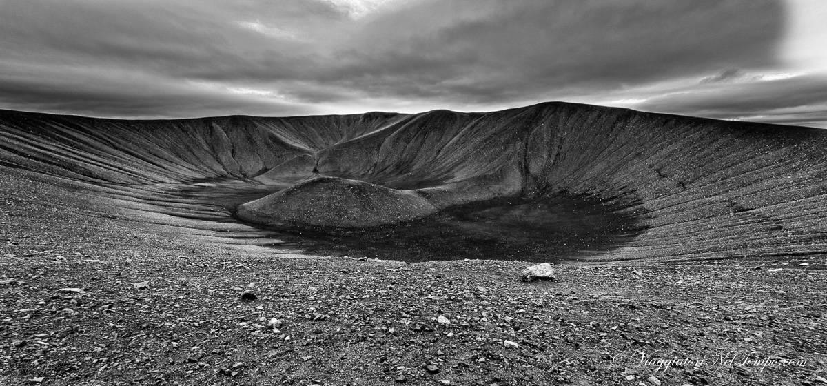 Lake myvatn - Hverfjall crater