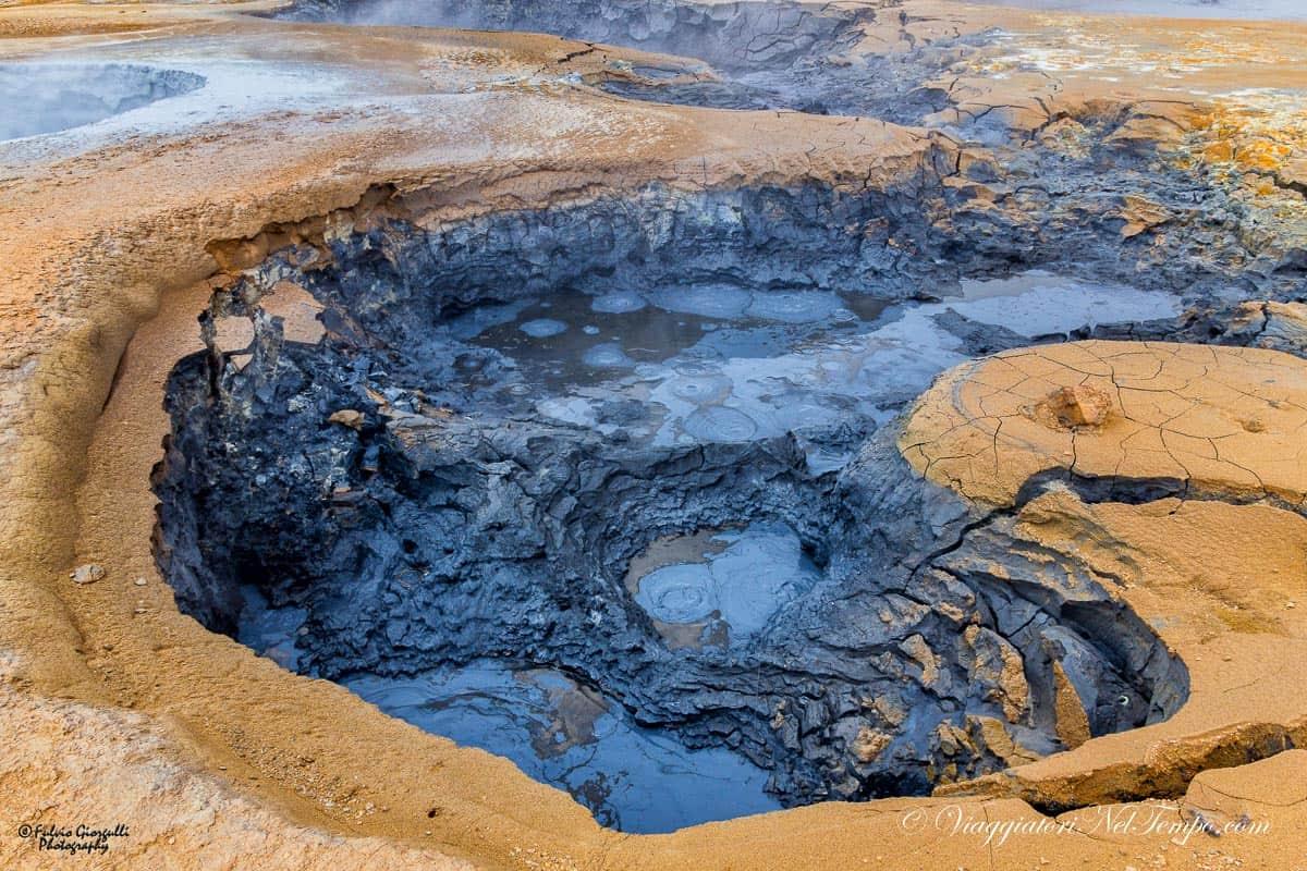 Hverir Geothermal fields