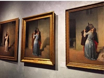 Milano: domenica al Museo… Gratis - Bacio di Hayez - foto presa da Internet