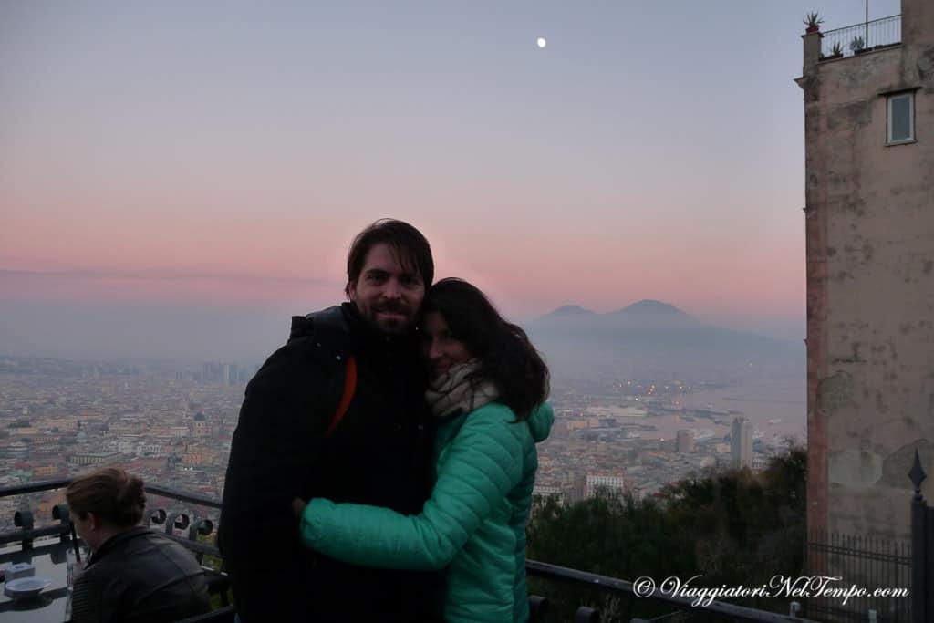 Dal Vomero tutta Napoli ed il Vesuvio ai nostri piedi!