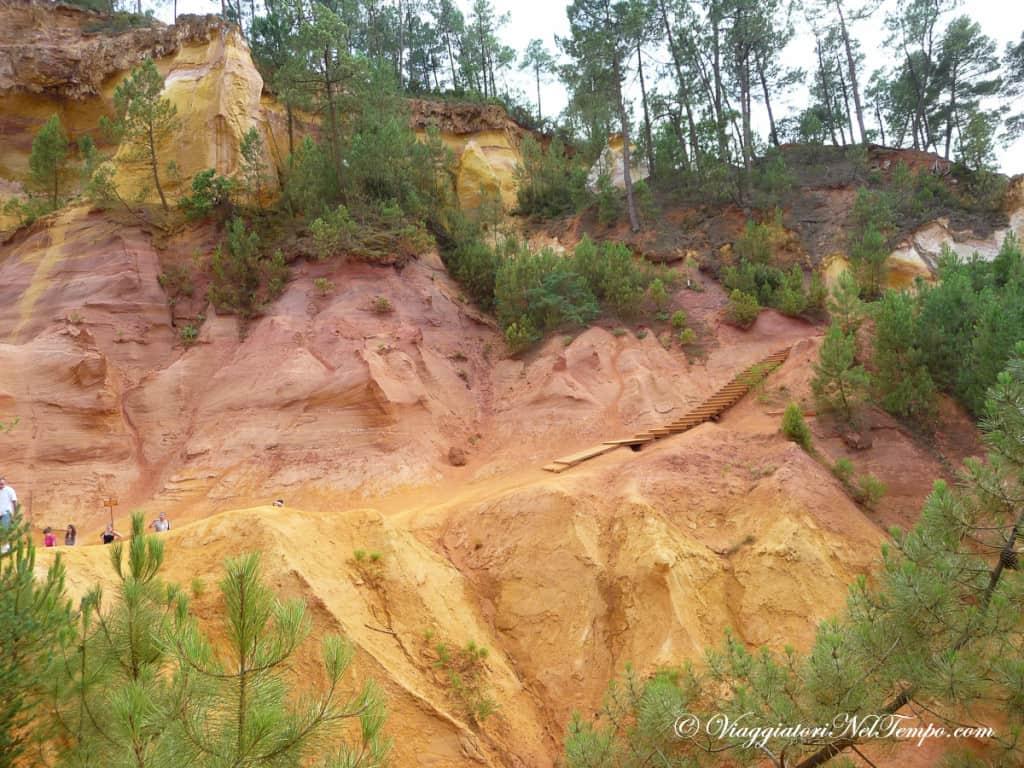Provenza - Roussillon - la valle dell'Ocra