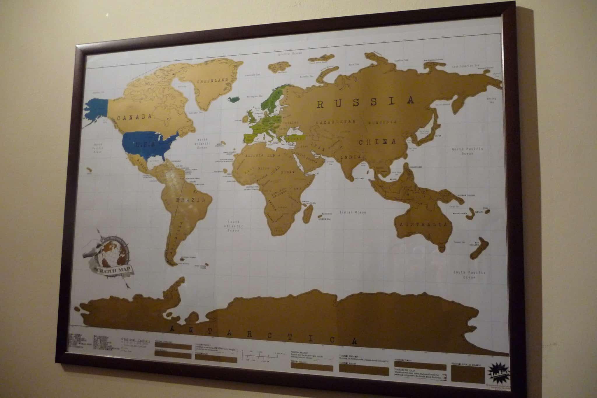 Cartina Mondo Lego.La Mia Scratch Map Viaggiatori Nel Tempo
