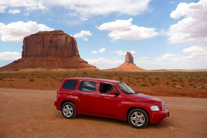 Viaggio nei parchi dell'Ovest degli Stati Uniti - la nostra auto