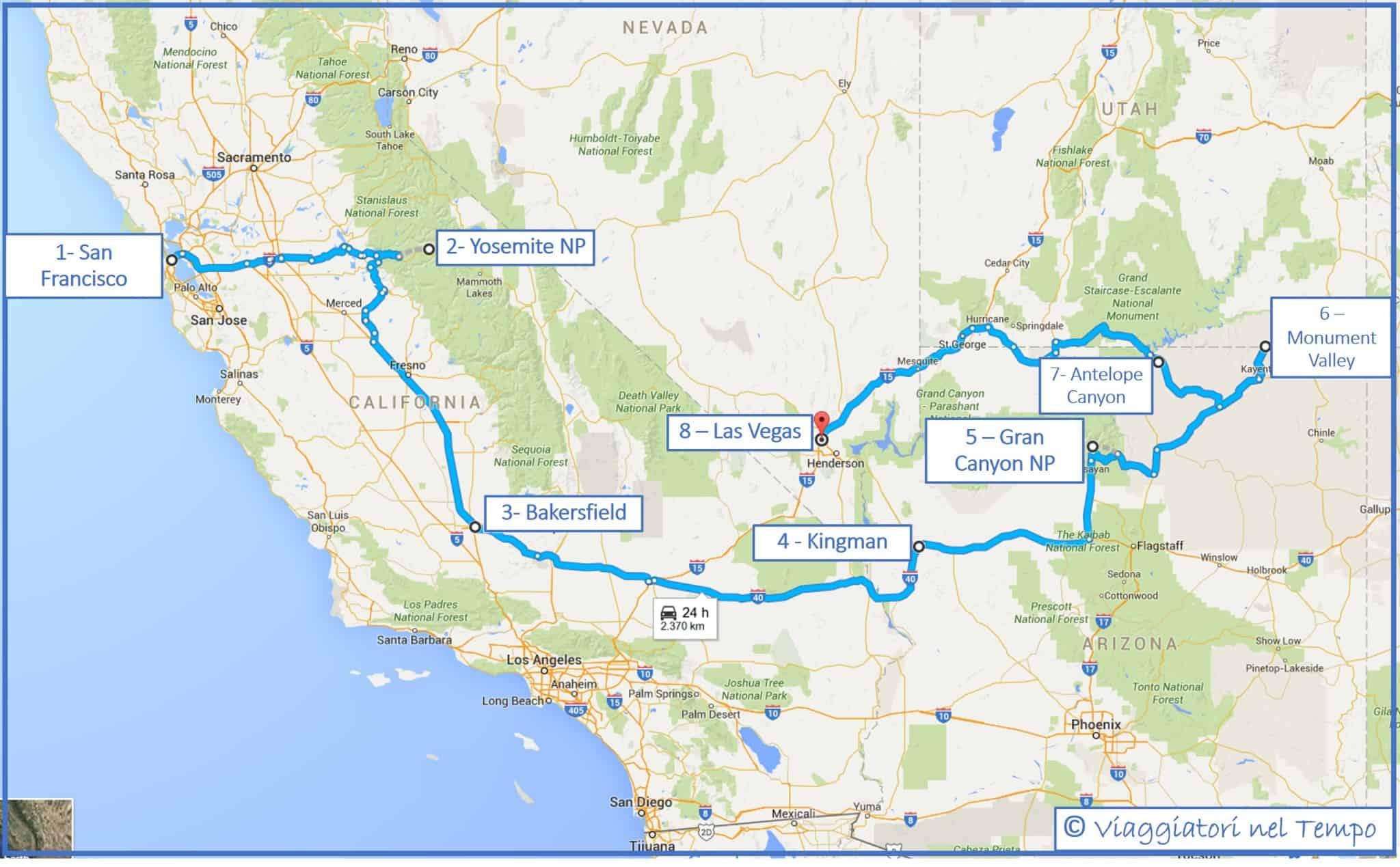 parchi dell 39 ovest degli stati uniti itinerario e consigli