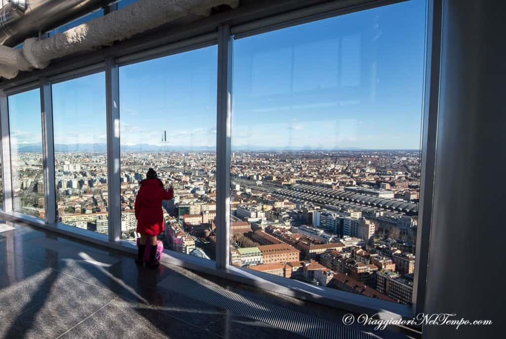 Milano dall'alto - skyline da Palazzo Lombardia