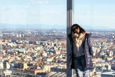 Milano dall'alto - skyline da palazzo Lonbardia