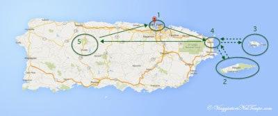Portorico - racconto di viaggio: il nostro itinerario