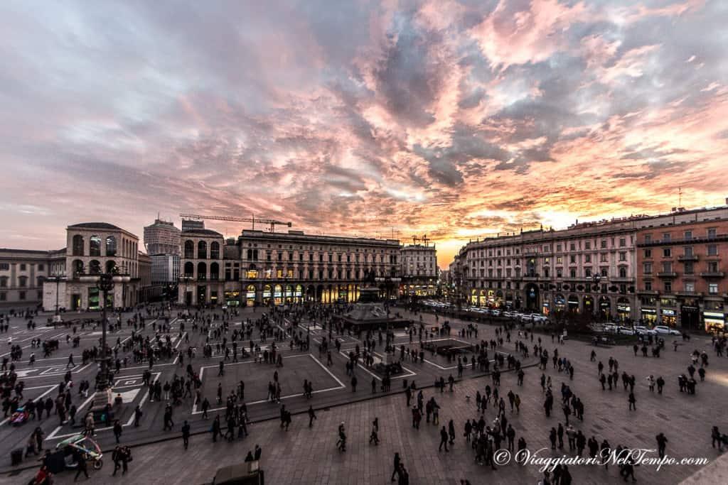 Milano dall'alto - piazza Duomo dalle Terrazze di Duomo21