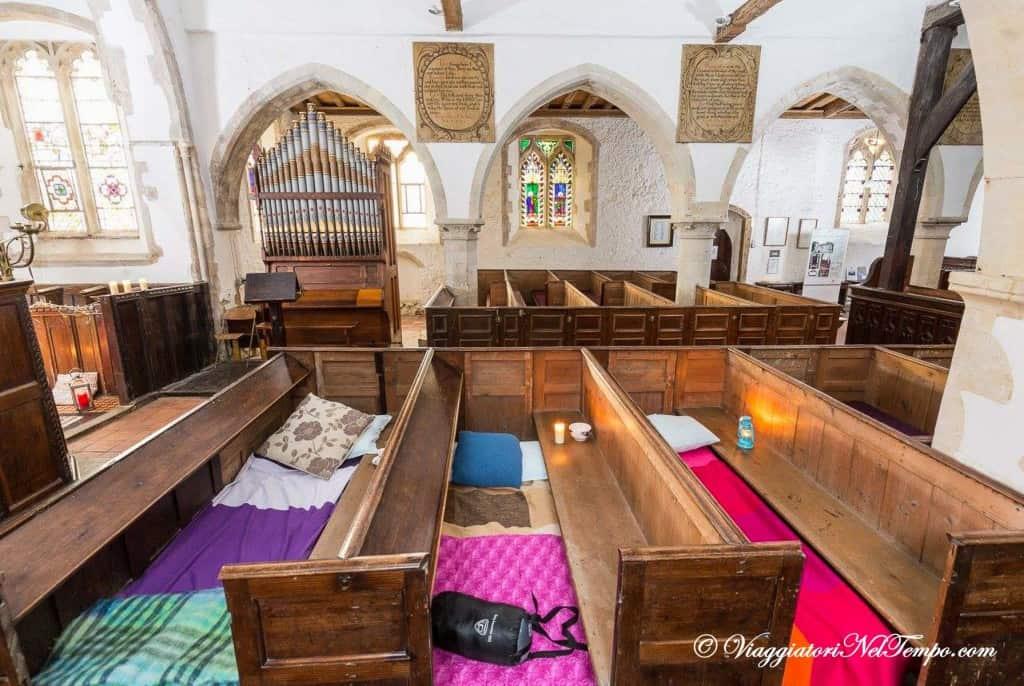 Champing - chiesa di West Stourmouth - Kent