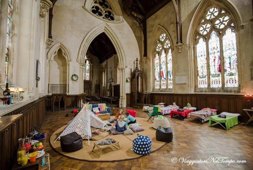 Champing - ovvero dormire nelle chiese
