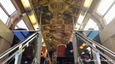 Le carrozze della RER per andare a Versailles