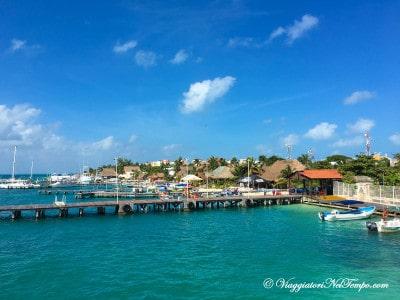 Messico Isla Mujeres - Arrivo in traghetto