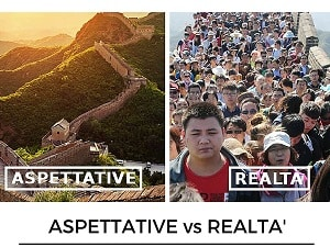 ASPETTATIVE vs realta'