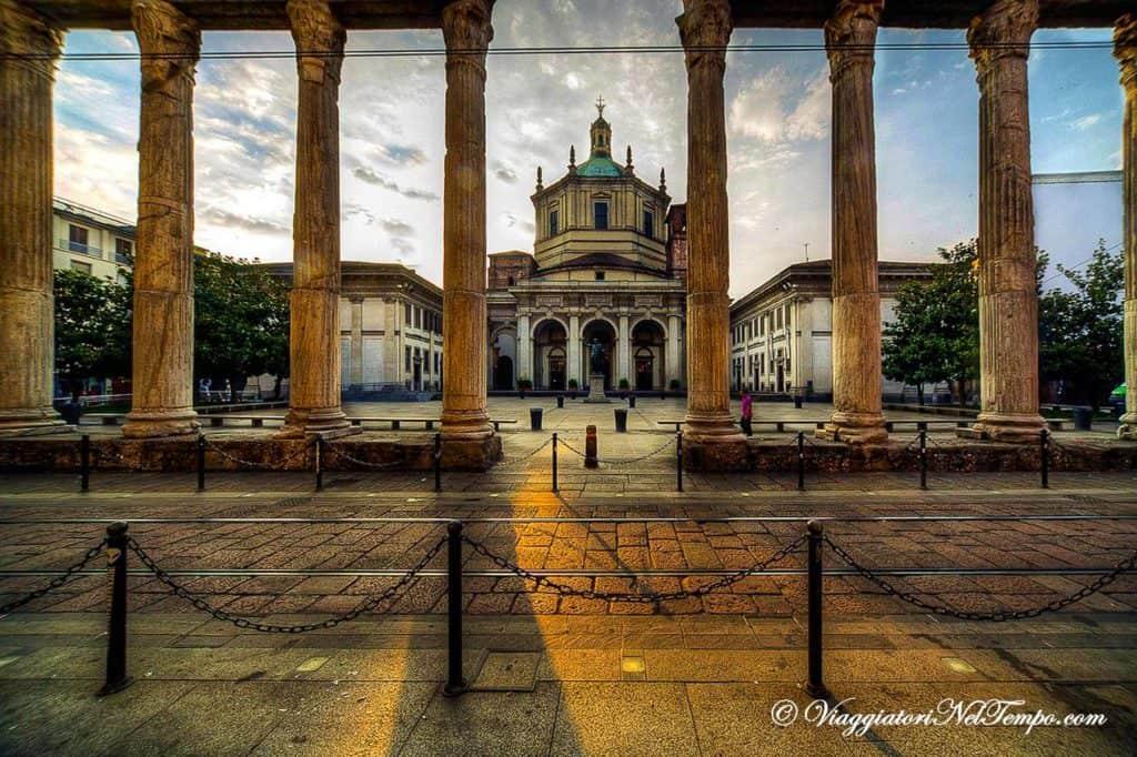 #24foto Milano Colonne di San Lorenzo