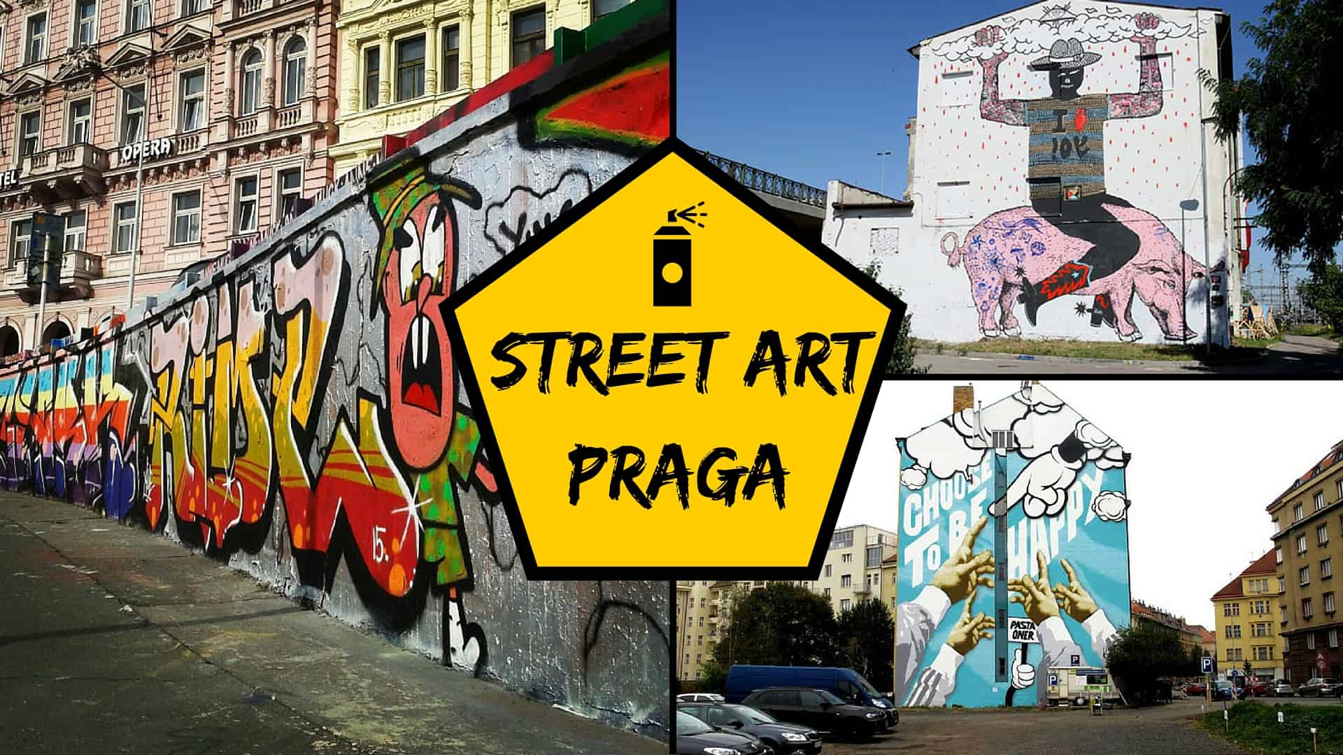 street art praga alla scoperta di graffiti e murales. Black Bedroom Furniture Sets. Home Design Ideas