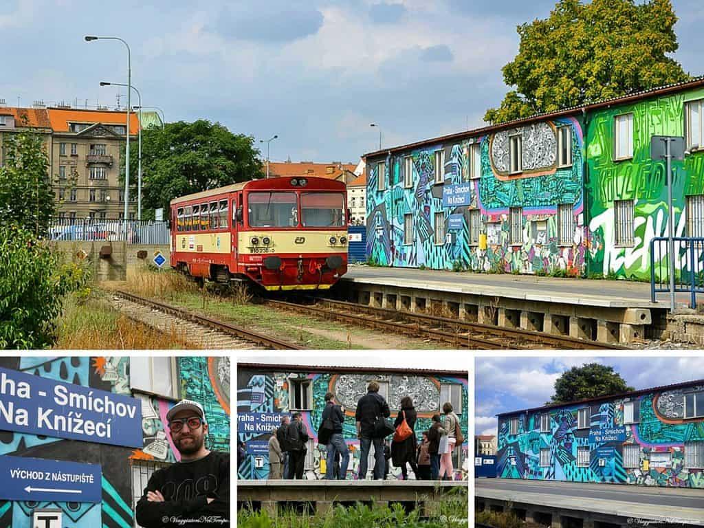 street art Praga Smichov Na Knížecí