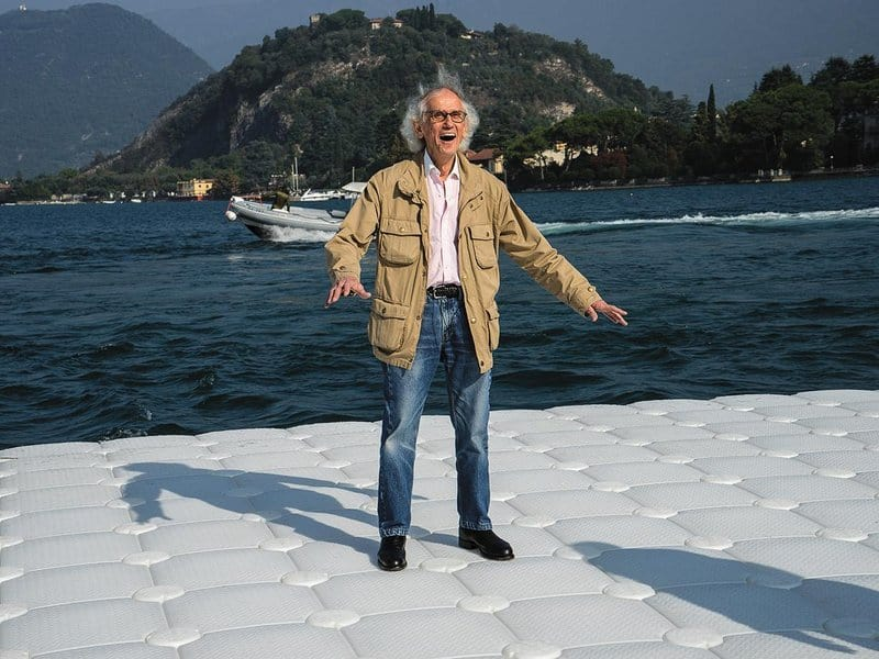 CHRISTO FLOATING PIERS LAGO D'ISEO
