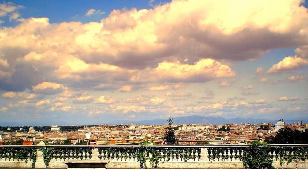 Roma dall\'alto: terrazze panoramiche più belle con panorami mozzafiato