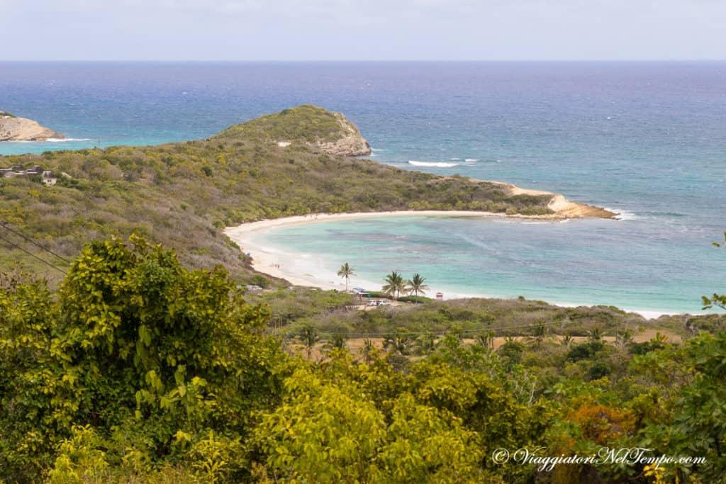 Antigua crociera caraibi Half Moon Bay