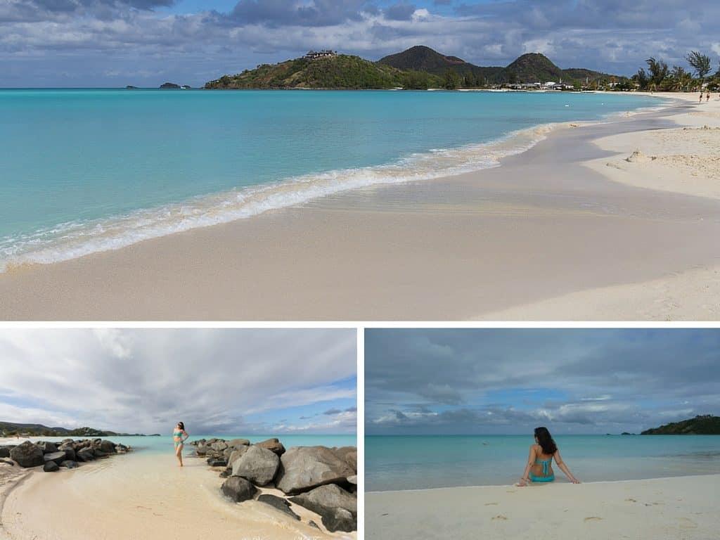 La spiaggia Cast Away di Jolly Harbour