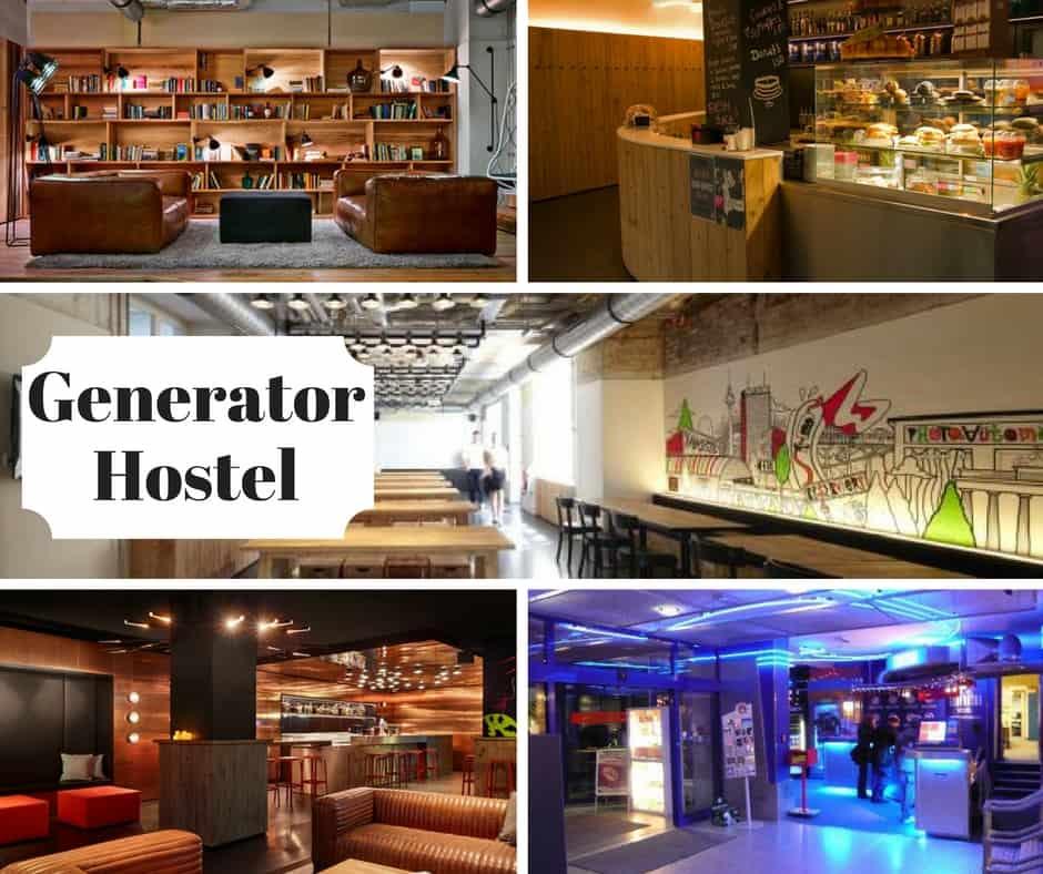 Ostelli migliori di Berlino generator hostel