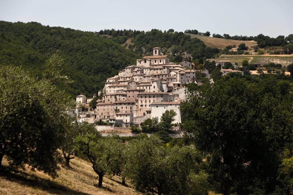 Il bellissimo borgo di Palazzo di Arcevia