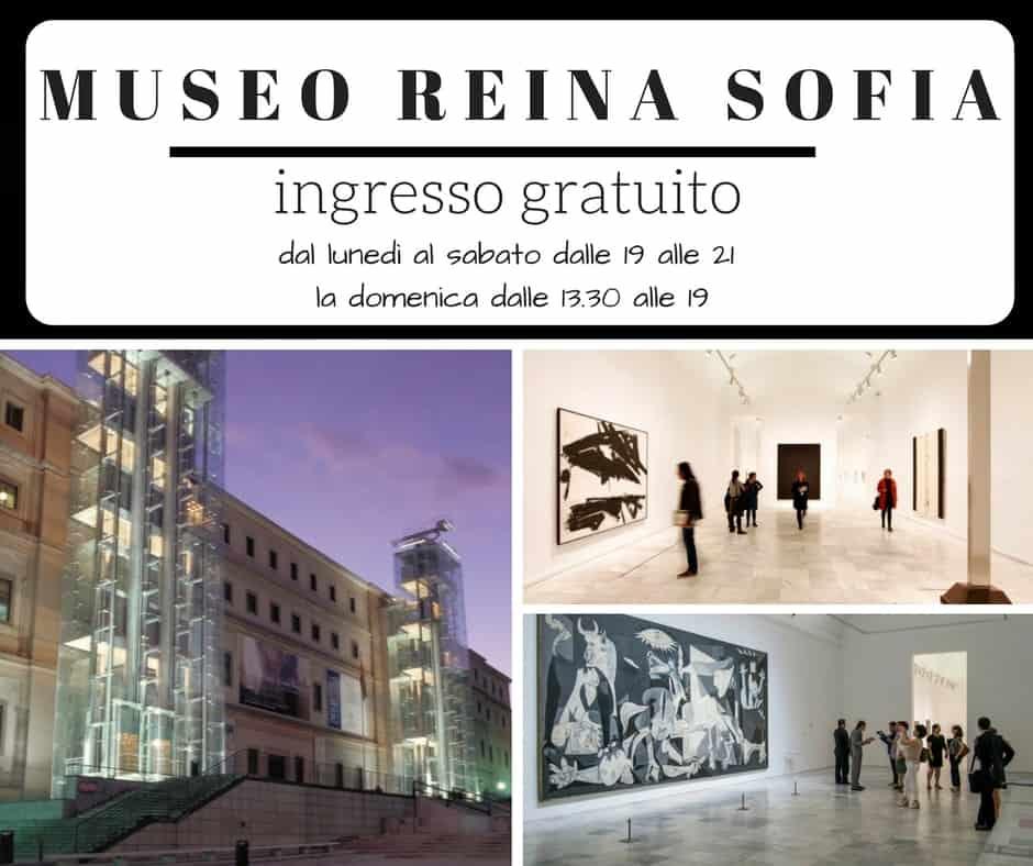 madrid musei gratis museo-reina-sofia