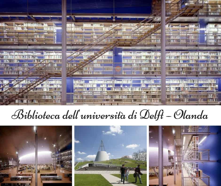 Biblioteca dell'università di Delft – Olanda