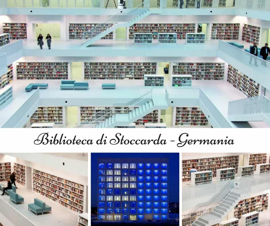 Biblioteca di Stoccarda - Germania