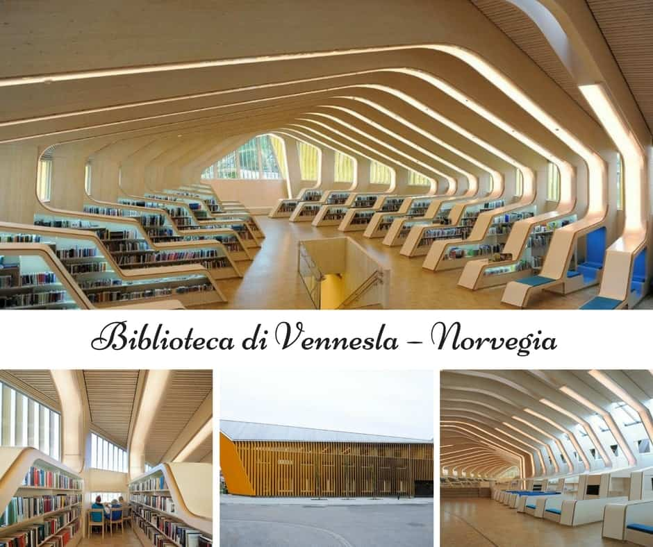 Biblioteca di Vennesla – Norvegia