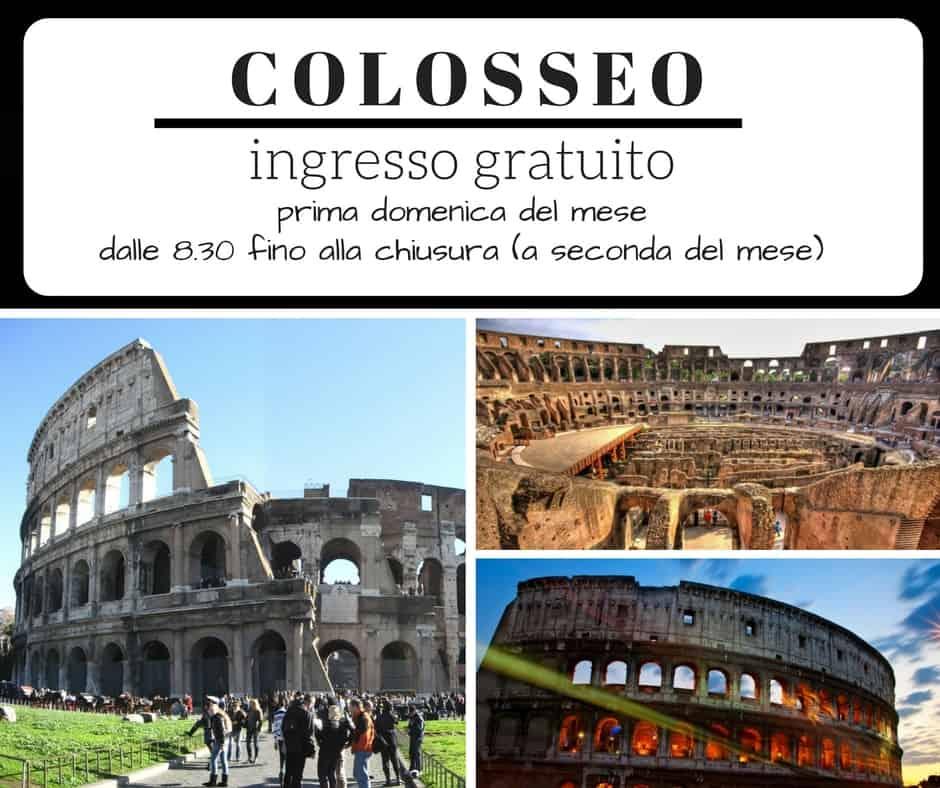 musei-gratis-roma-colosseo