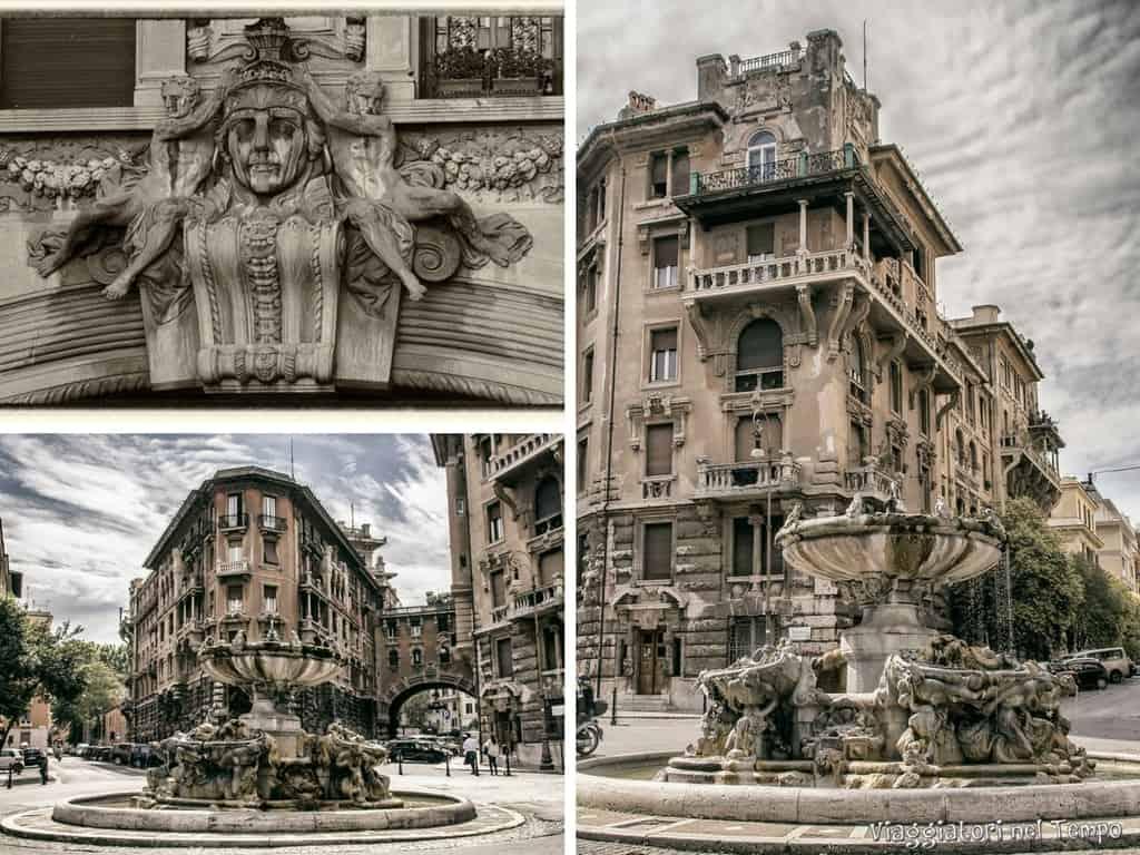 Roma alla scoperta del quartiere Coppede, tra arte Liberty, decò e ...